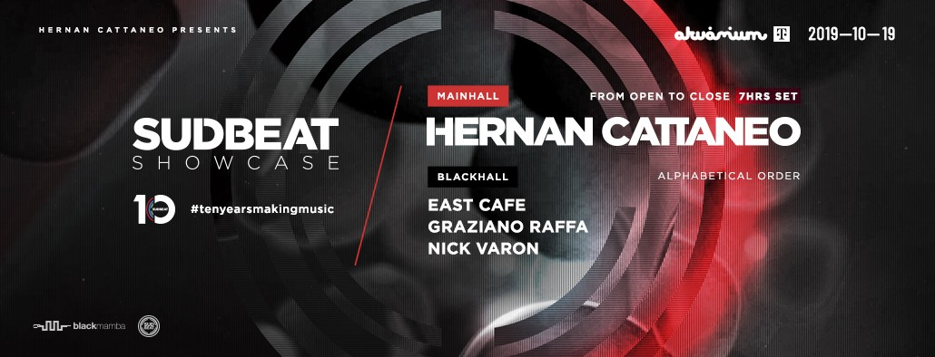 SUDBEAT SHOWCASE PRES.: HERNAN CATTANEO + GUESTS