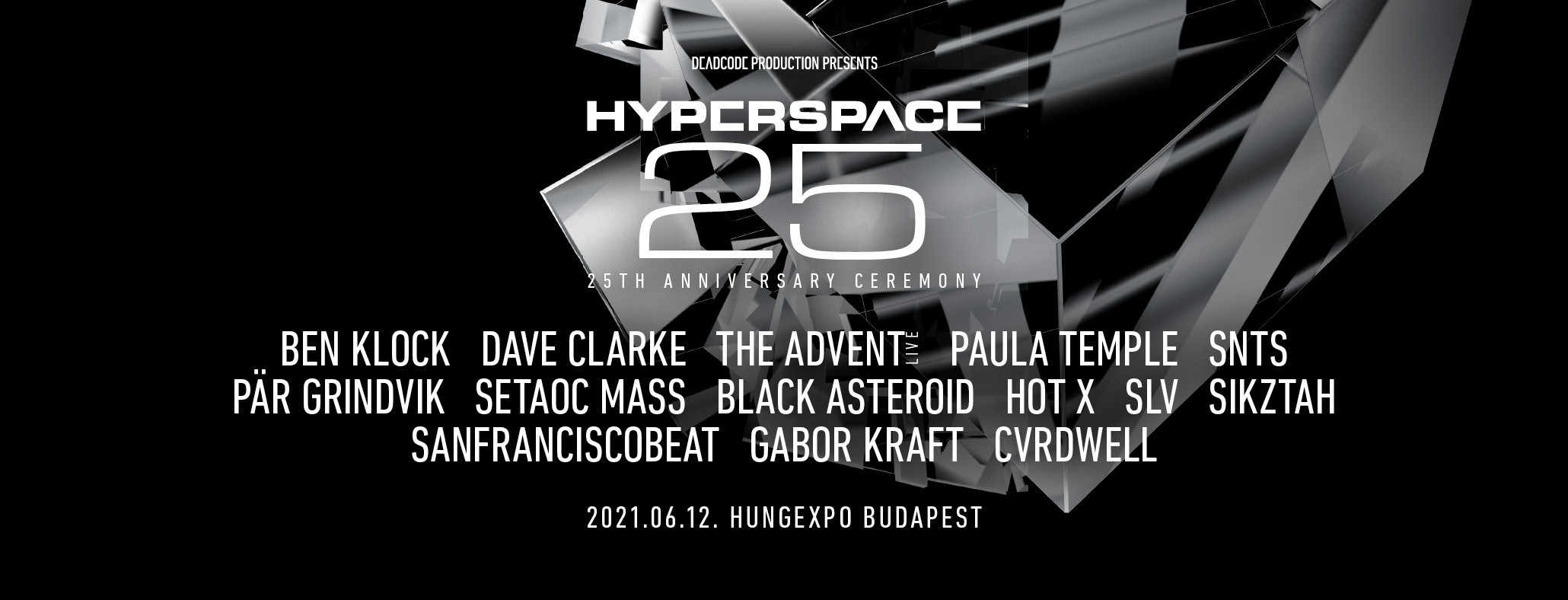 HYPERSPACE 2021 - 25TH ANNIVERSARY CEREMONY